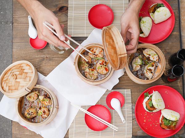 Asian food Shanghai Bistro Amsterdam