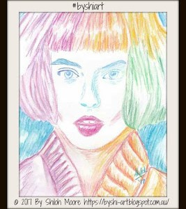 RainbowBobGirlWatercolour ByShi