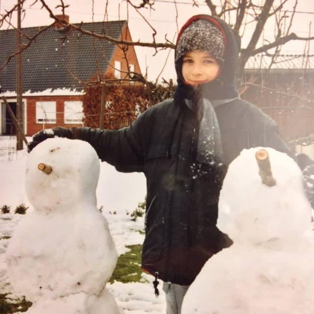 Terug in de tijd |  Sneeuwpoppen maken