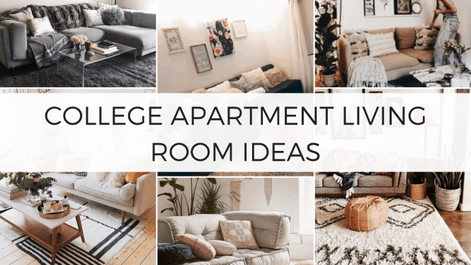 26 Insanely Cute College Apartment Living Room Ideas To Copy