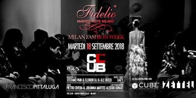 Fidelio Party speciale Milano Fashion Week | The Club Milano - 18.09.2018