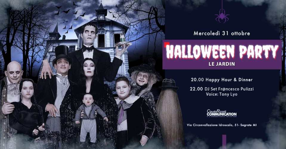 Halloween Le Jardin 2018