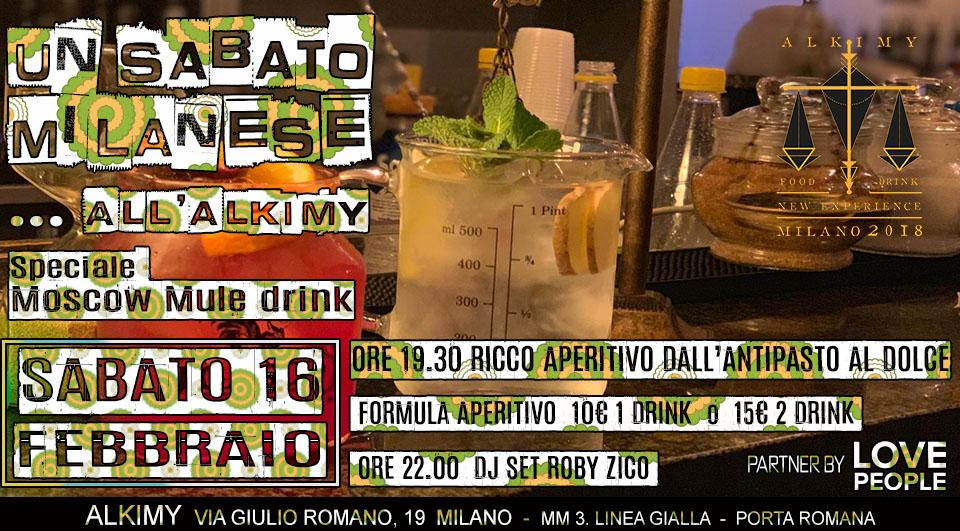 Moscow Mule aperitivo a Milano