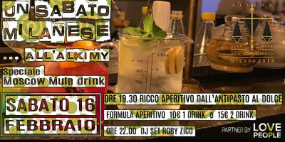 Moscow Mule aperitivo a Milano