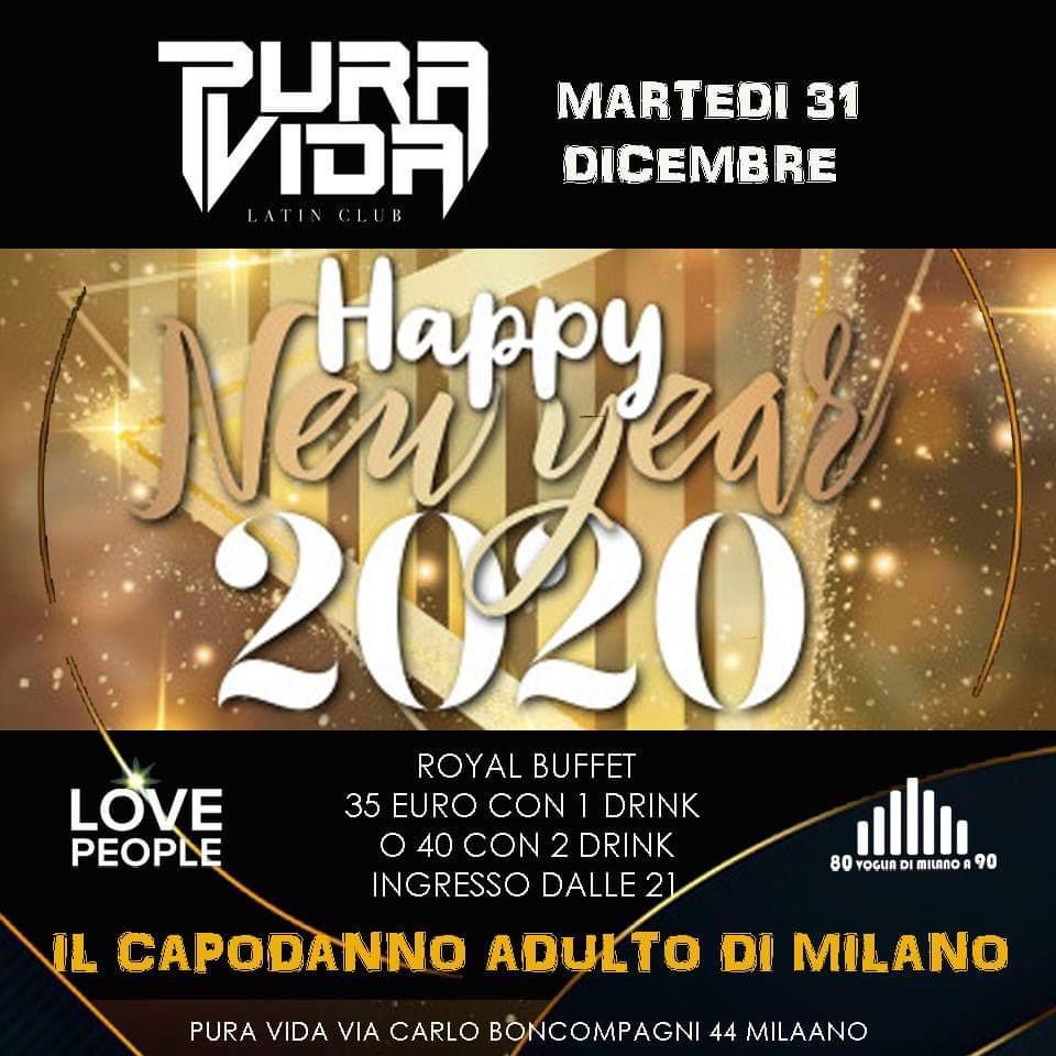 Capodanno Pura Vida Milano