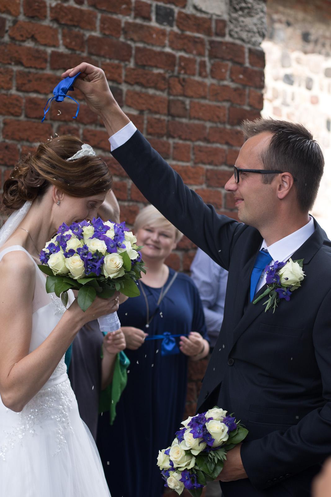 Tine og Allans bryllup - ris