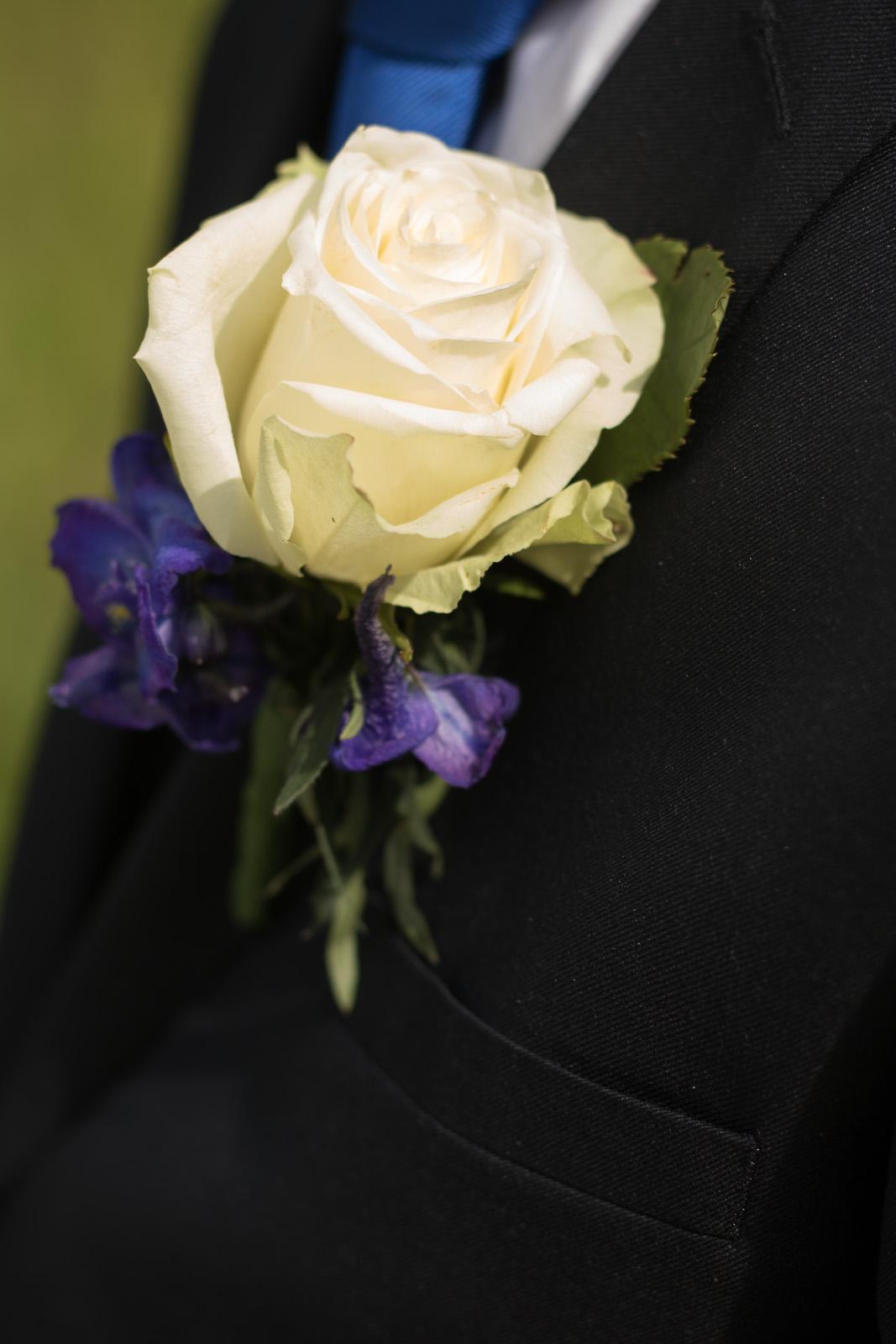 Tine og Allans bryllup - blomst