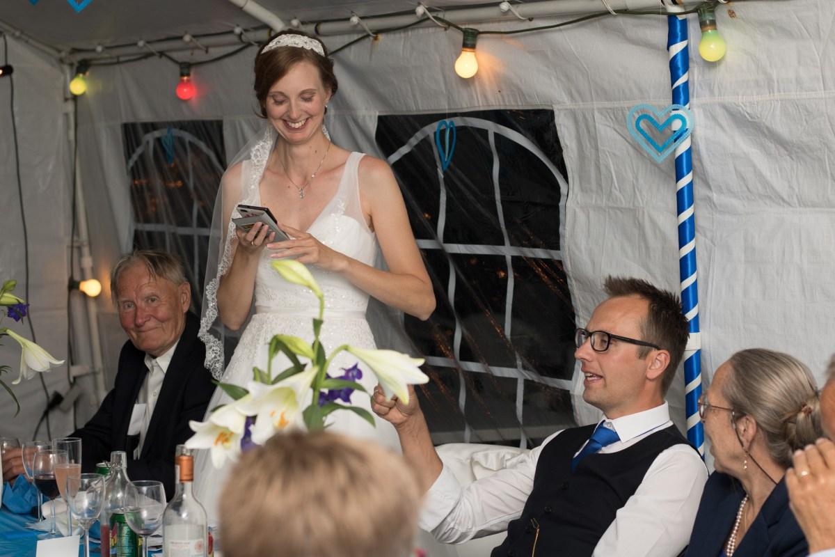 Tine og Allans bryllup - tale