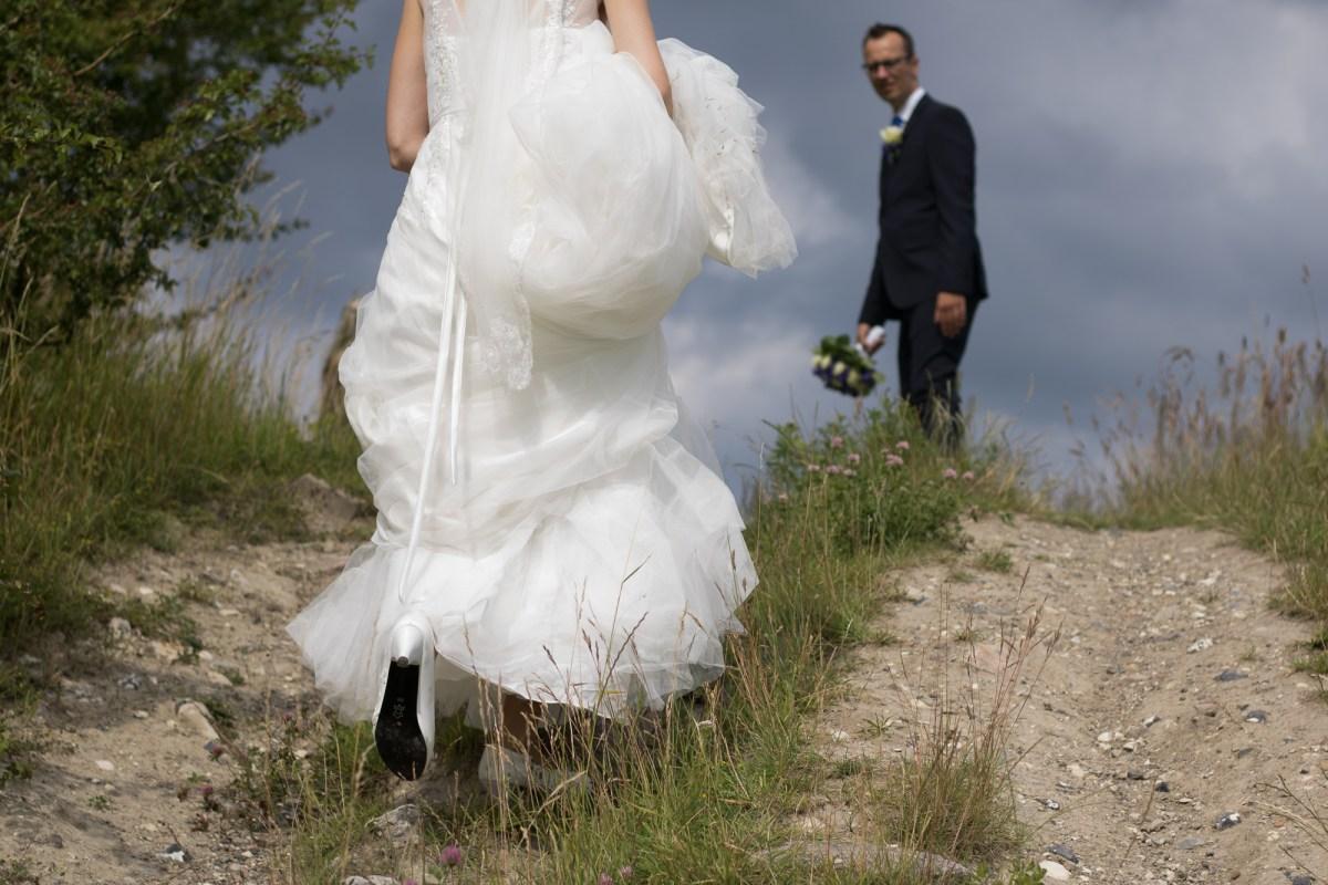 Tine og Allans bryllupsfotografering