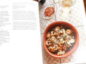 Prawns (shrimp) with conza