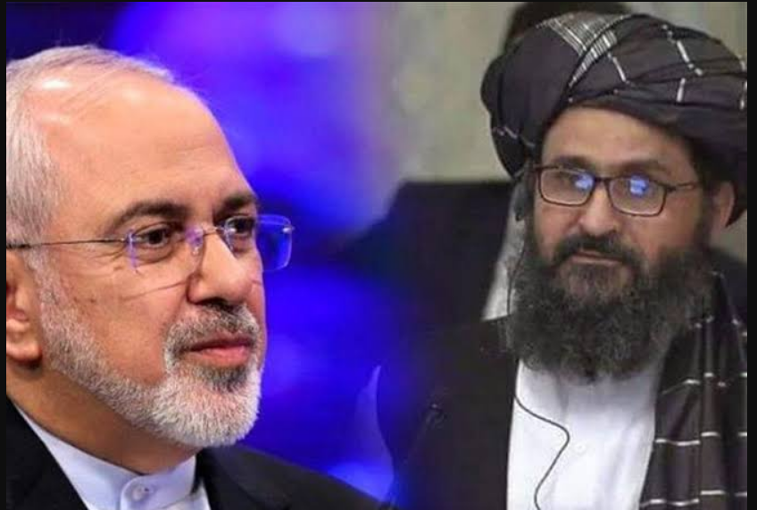 Taliban Delegation Meets with Iran's Zarif in Tehran