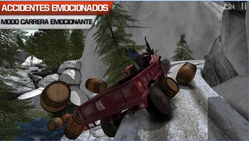 Conductor de camión 3D