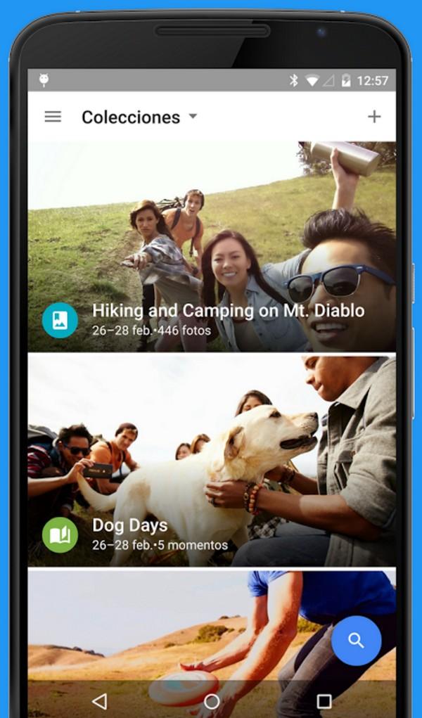 Descargar Google Fotos para Android c