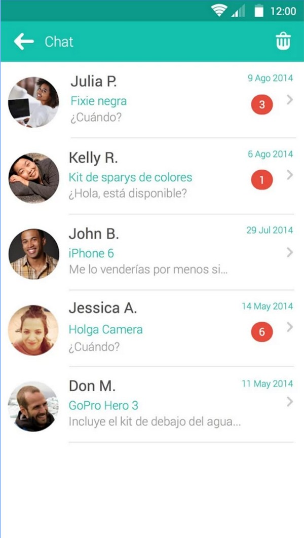 Descargar Wallapop para Android c