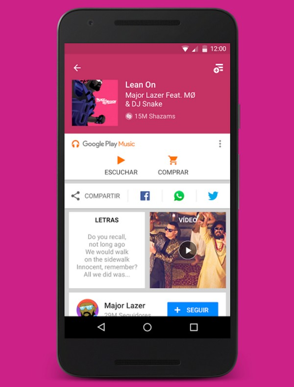 Descargar Shazam para Android b