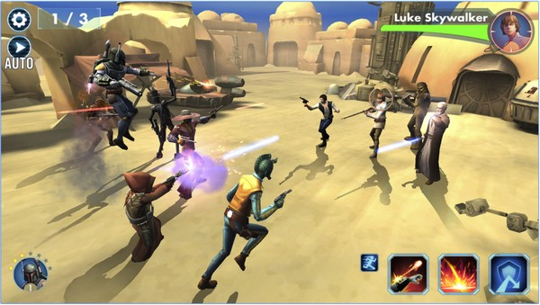 Star Wars: Galaxy of Heroes para Android