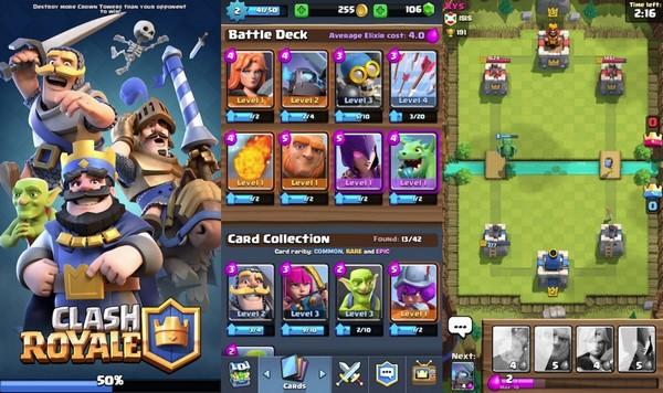 Descargar Clash Royale para iPad b