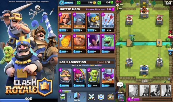 Descargar Clash Royale para iPad b