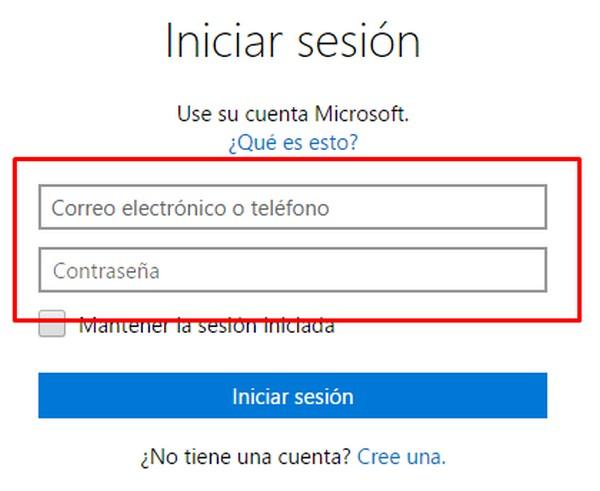 Cómo entrar en Outlook.com b