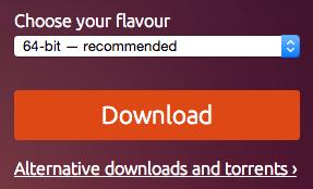 Descarga de Ubuntu x64