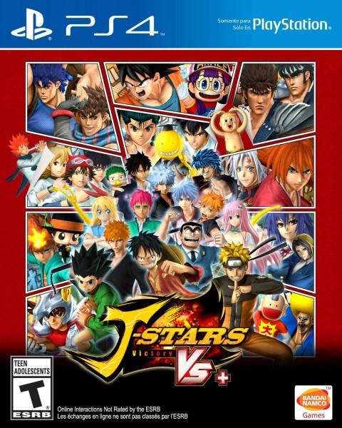 Portada de PS4 de J-Stars Victory Vs+