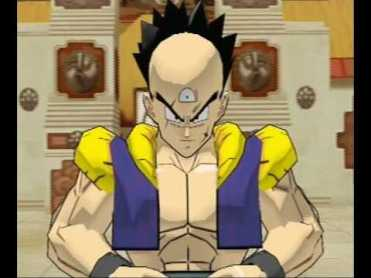 Tiencha, fusión entre Yamcha y Ten Shin Han original de Budokai 2.