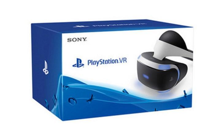 Caja de PlayStation VR