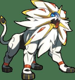 Solgaleo, legendario de Sol