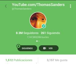 Thomas Sanders, comediante y cantante