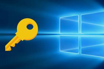 comprobar la clave de Windows