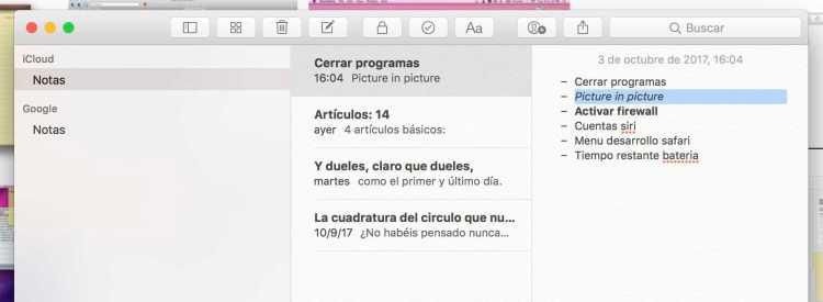 estilos de texto en mac