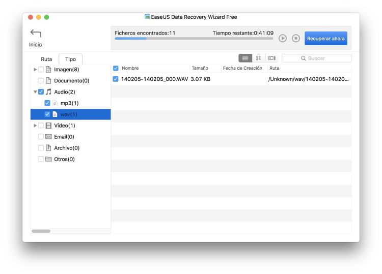 recuperar datos borrados en windows y Mac