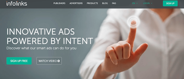 A look at the Infolinks ad platform
