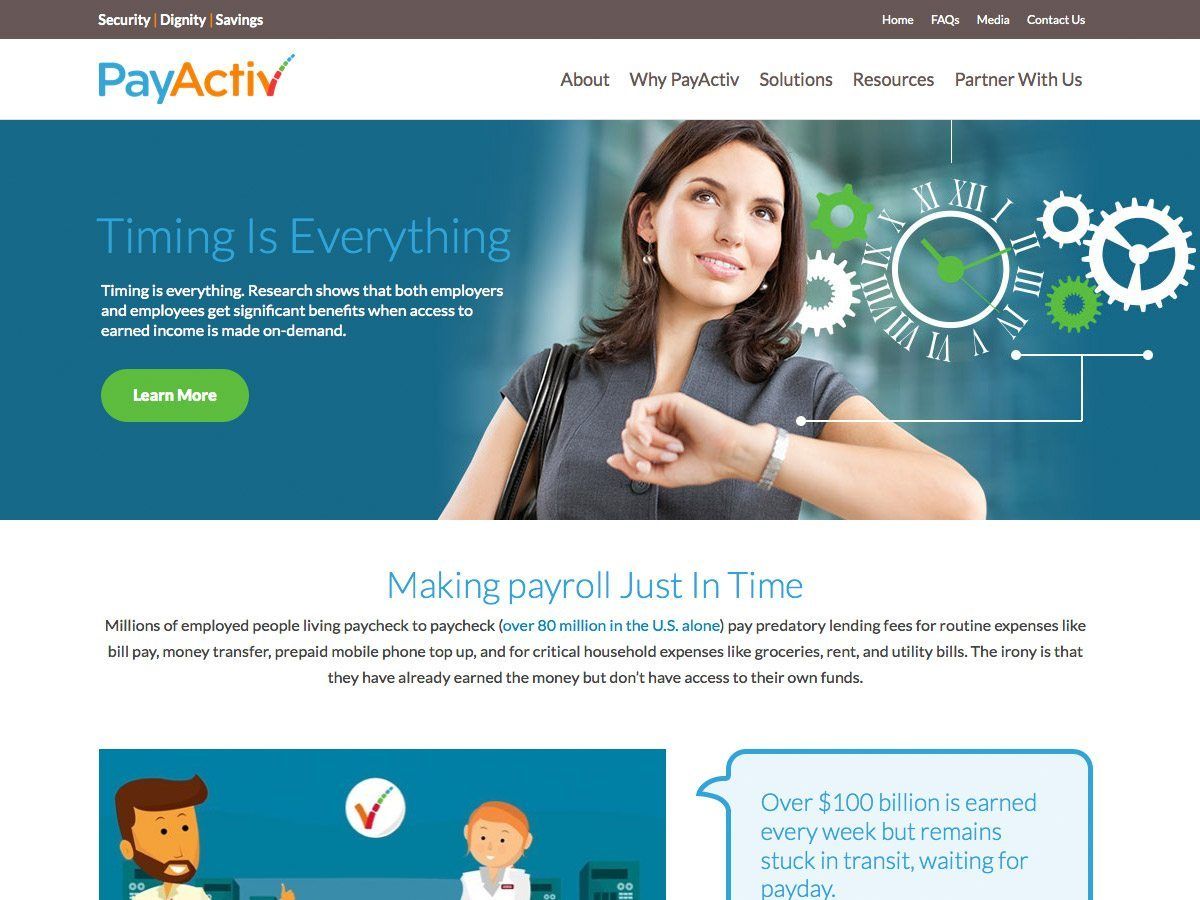 PayActive Website