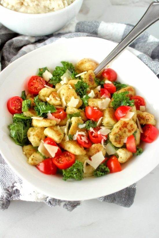 Give new life to leftover mashed potatoes with Ricotta Mashed Potato Gnocchi! A fun and easy way to instantly transform sad, neglected leftover mashed potatoes into a delicious entree or side dish you'll actually want to eat!   www.bytesizednutrition.com