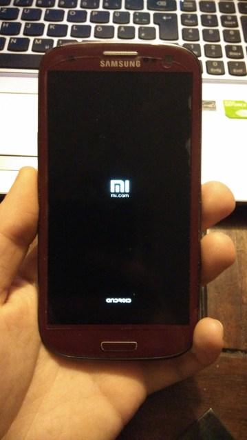 MIUI 5.3 startet auf Samsung Galaxy