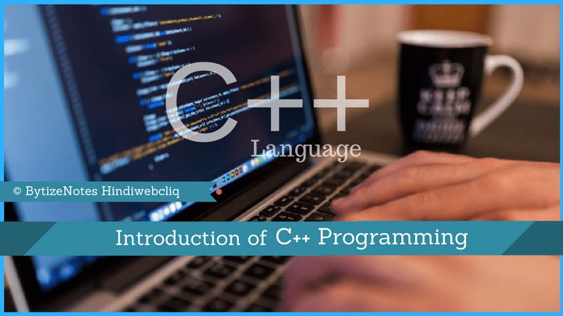 Cpp programming language
