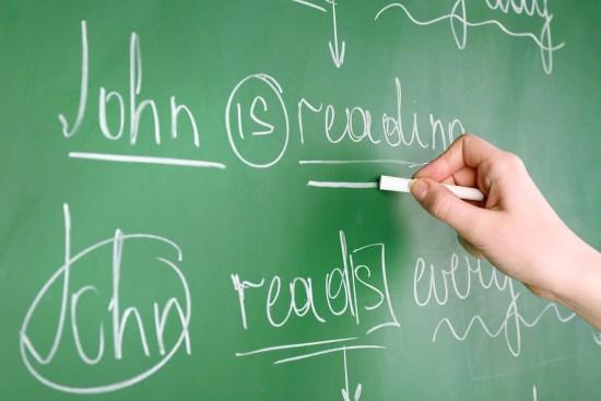 Novelist Tom Hoover on Grammar Rules