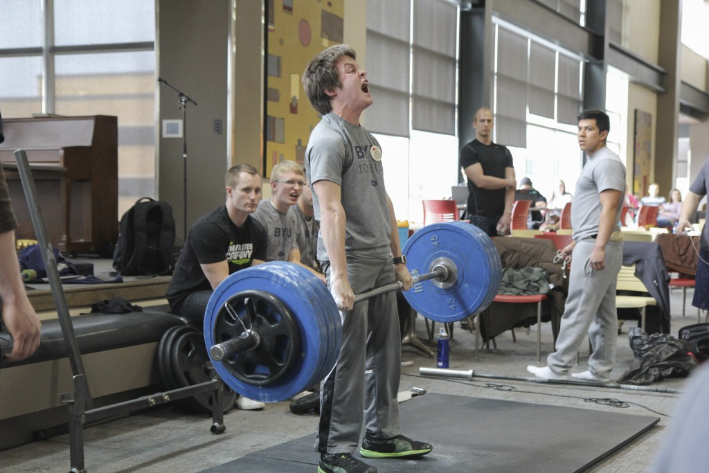 Deadlift Contest Held By Wellness Activities Byu I Scroll