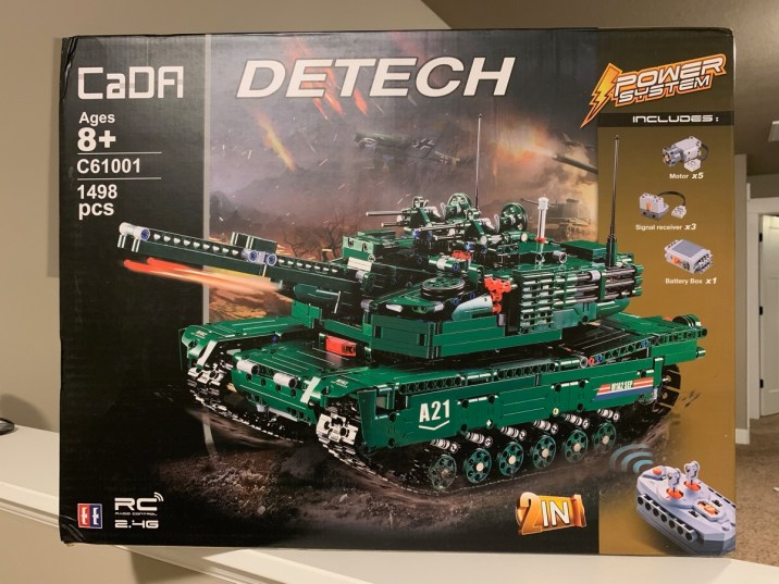 Review Double Eagle Cada C61001 M1a2 Abrams Tank With Power System Alt Blocks