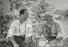 With Mullah Mustafa Barzani, Iraq, 1965