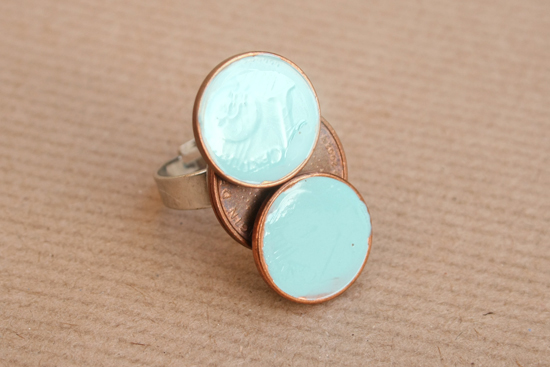 diy coin ring