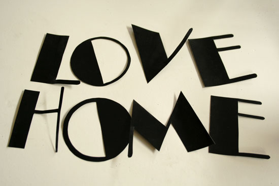 diy vinyl letters how to