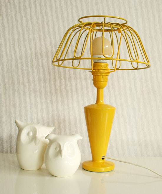 fruit bowl lamp diy after