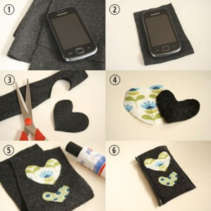 smartphone case diy tutorial steps