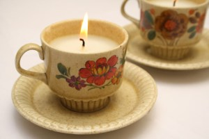 diy mother's day gift tea cup candles