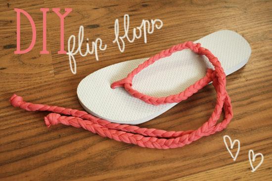 DIY flip flops 2