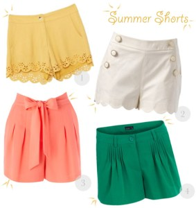 love this - summer shorts!