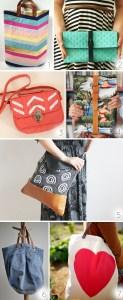 Seven pretty DIY bags