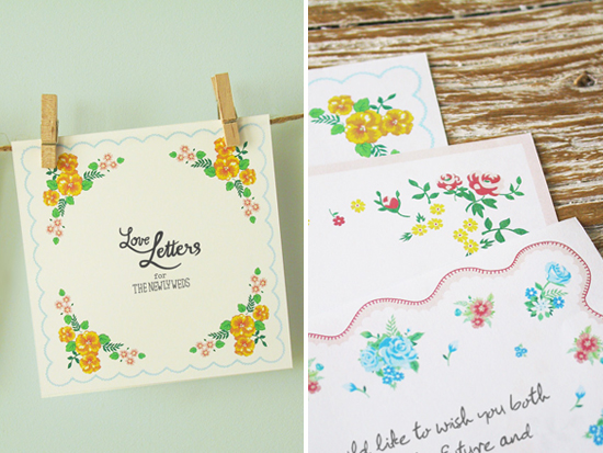loving this sunday: love letters for the newly weds